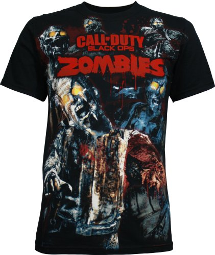 Call of Duty: Black Ops Zombies Men's T-Shirt, Small - Buy