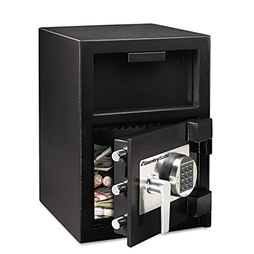 Sentry Safe DH109E Digital Depository Safe Extra Large 1.09 ft3 14w x 15 3/5d x 24h Black ()