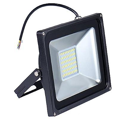 Oshide 50W LED Floodlight,Low-Energy Warm White Spotlight,IP65 Waterproof Outdoor&Indoor Security Flood Light Landscape Lamp