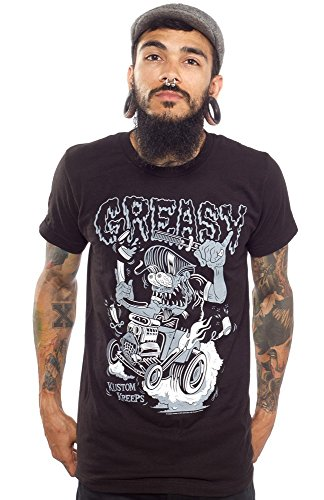 Kustom-Kreeps-Greasy-Greaser-Rat-Rod-T-Shirt