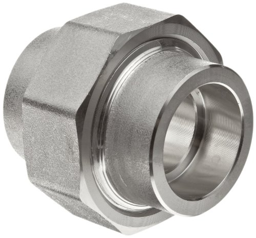 304/304L Forged Stainless Steel Pipe Fitting, Union, Socket Weld, Class 3000, 3/4