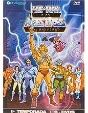 Box He-man Os Mestres Do Universo 1ª Temporada (6 DVDs)