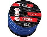 DS18 PW-4GA-100BL-2pk 100-Feet 4-Gauge Ultra Flex Power Cable (Blue), Set of 2