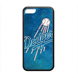 TYH - los angeles dodgers Hot sale Phone Case for iPhone 5c Black ending phone case