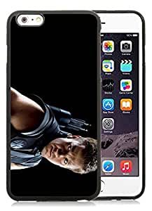 iPhone 6 Plus 5.5 Inch TPU Case ,Unique And Fashionable Designed Case With The Avengers Jeremy Renne Clint Barton Hawkeye Black For iPhone 6 Plus Cover Phone Case