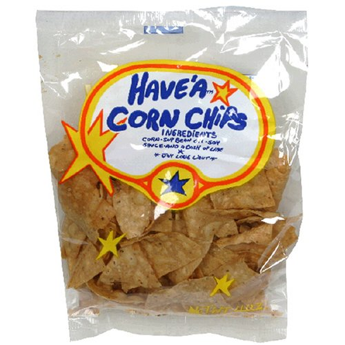 Have'a Corn Chips, Regular Flavor, 4-Ounce Bag (Pack of 24)