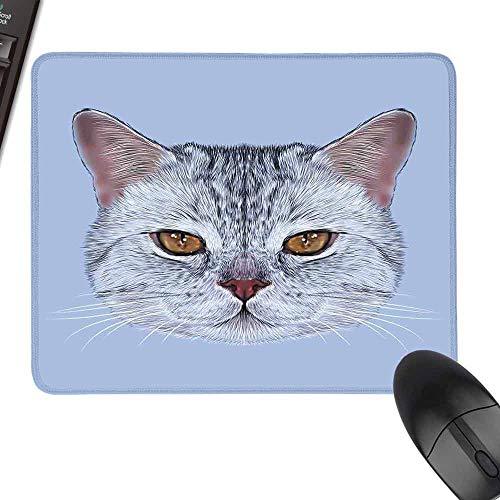 Thicken Mouse Pad,Cat,Laptop Desk Mat, Waterproof Desk Writing Pad,35.4