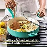 GreenPan Rio Healthy Ceramic Nonstick, Sauté Pan