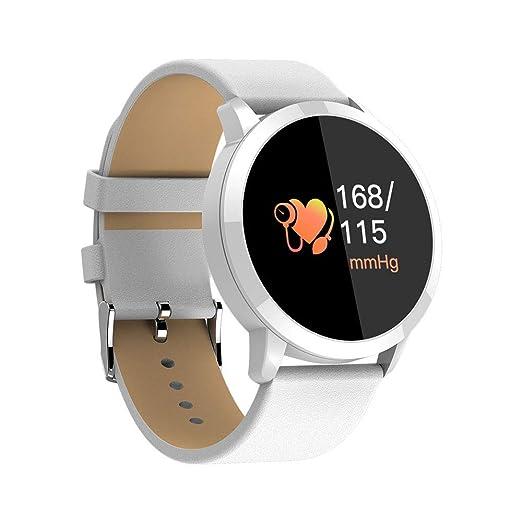 MEISHENG Fitness Tracker Q8 Reloj Inteligente Ritmo cardíaco ...