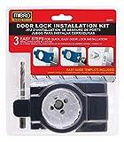 MIBRO 300691 Bi-Metal Door Lock and Deadbolt Installation Kit for Wood and Metal Doors