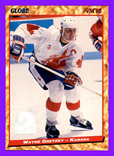 (1995 Swedish Globe World Championships #99 Wayne Gretzky TEAM CANADA)