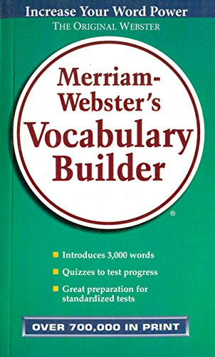 Merriam-Webster's Vocabulary Builder [Paperback] [Jan 01, 2005] Webster