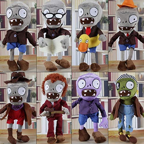 RAFGL 9 Styles Plants Vs Zombies Gargantuan Zombie PVZ Plush Toys Stuffed Dolls 12'' 30 cm Cartoon Plush Doll Toys Kids Gifts Sa1218 Thing You Must Have Friendship Gifts Childrens Favourites by RAFGL