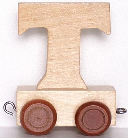 Buchstabe A Handelhaus Kinder Personalisierte Holz Buchstaben Zug A-Z Namen Set Alle Buchstaben Erh/ältlich