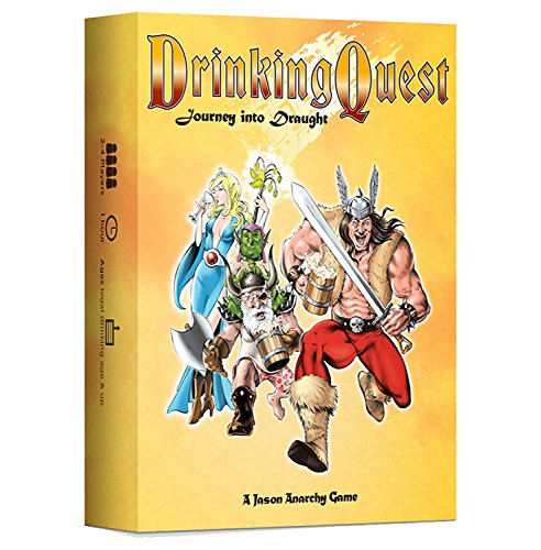 Drinking Quest: Journey into Draught (Drinking Quest Trilogy Edition)