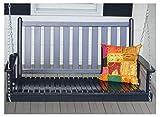 Dixie Seating Company O Slat Porch Swing 143393-OG-47181-O-176793, White