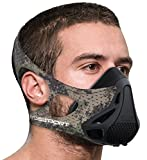 Aduro Sport Workout Training Mask - for Running Biking Training and Fitness, Achieve High Altitude Elevation Effects with 4 Level Air Flow Regulator [Peak Resistance] - CAMO