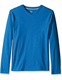 Men's Long Sleeve V-Neck Tee