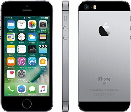 Apple iPhone SE, 32GB, Space Gray - For AT&T (Renewed)
