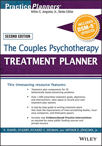 The Couples Psychotherapy Treatment Planner, with DSM-5 Updates (PracticePlanners)