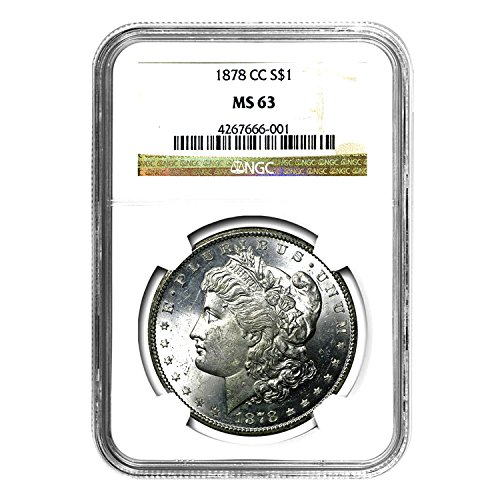 1878 CC Morgan Dollar $1 MS-63 NGC