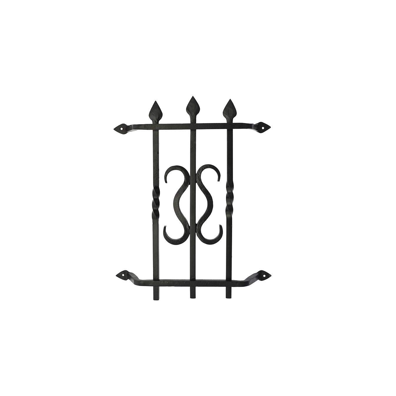 Gate Speakeasy Grille : Iron Scroll Design 103 by Prima