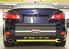 Thickest Bumper Guard Widest Bumper Protection Indoor// Outdoor Ultimate Rear Bumper Protector Steel Reinforced Straps 36 Wide x 12 Tall PARKING ARMOR 3.6 - STEEL REINFORCED STRAPS PREVENT THEFT !