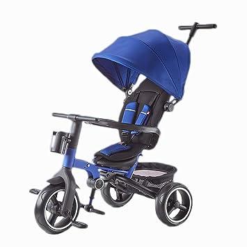 Amazon.com: NBgy - Triciclo plegable para cochecito de bebé ...