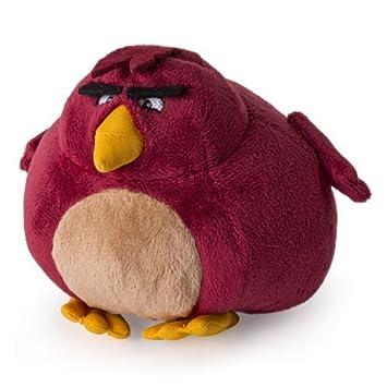Angry Birds Plush Bird BORDEAUX - TERENCE 12cm Peluche Original OFFICIAL  Rovio