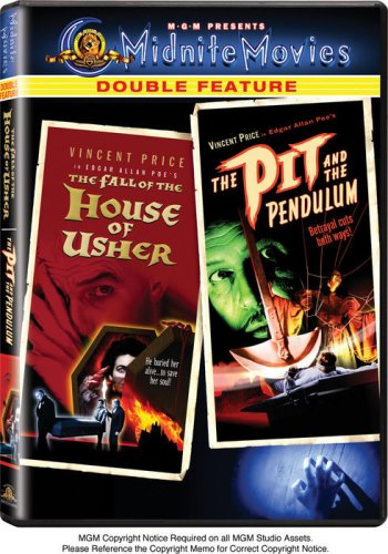 The Fall of the House of Usher / The Pit and the Pendulum (Midnite Movies Double Feature) by PRICE,VINCENT