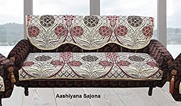 Sofa Cover6 piece cotton sofa cover and chair cover set content
