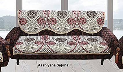 Perfect Sofa Cover(6 Piece Cotton Sofa Cover And Chair Cover Set, Content  1