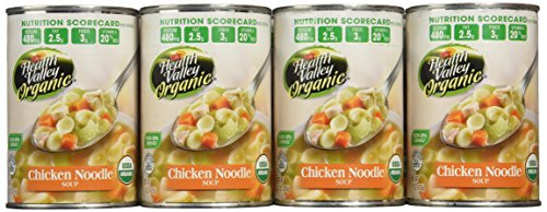 Health Valley Organic Soup, Chicken Noodle, 15 Ounce (Pack of 12)