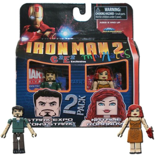- Iron Man 2 Minimates Figures - Stark Expo