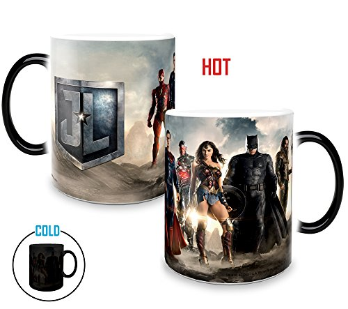- SDCC 2017 Exclusive DC Comics Justice League Movie (The League) Morphing Mug