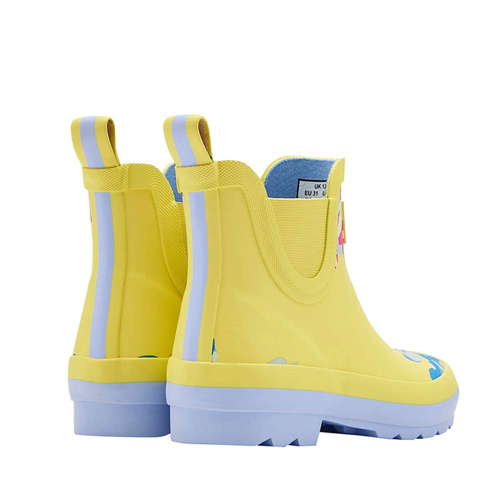 Toddler//Little Kid//Big Kid Joules Kids Baby Girls Wellibob Chelsea Boot Yellow Margate Floral 10 M US Toddler M