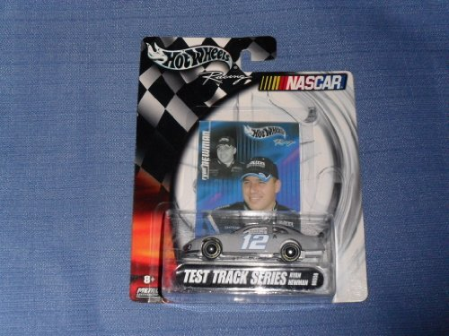 2003 NASCAR Hot Wheels . . . Ryan Newman #12 Alltel TEST Dodge Charger 1/64 Diecast . . . Includes Collector's Card and Display Stand . . . Test Track Series (Charger Ryan Newman)