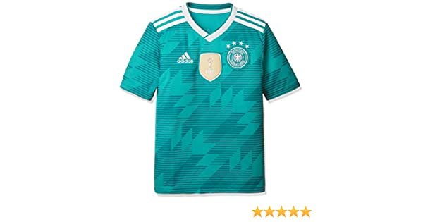 f3e1c9e80 adidas 2018-2019 Germany Away Football Shirt (Kids)