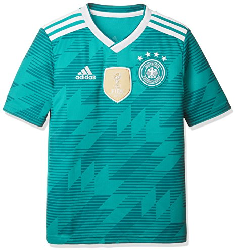 sports shoes 2c2d6 ff6ce adidas D04268 Children's German National Team Football Away Jersey WM 2018  Football Shirt