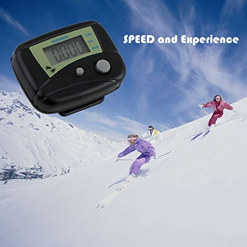 Pedometer Fitness Step Counter for Walking Running Distance Step Tracker to Keep Fit by FimiTech