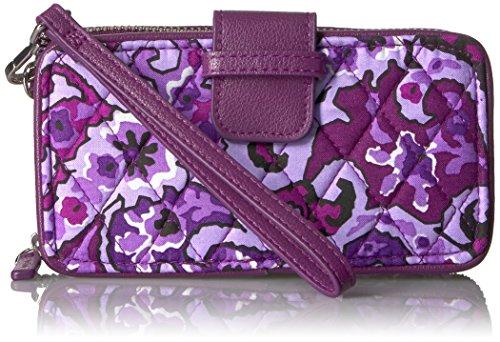 Vera Bradley Rfid Smartphone Wristlet-Signature, Lilac Paisley