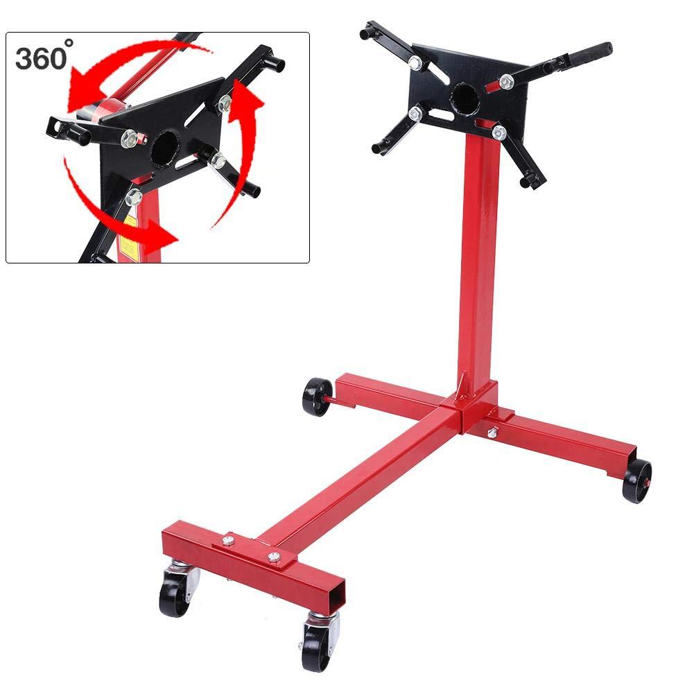 Para el Mantenimiento de Equipos de Automoci/ón 500kg Soportes Motor Zerone Motor de Carreras de Giro de 360 Grados