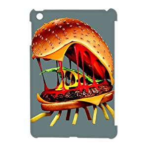 QSWHXN Cover Custom New Pattern Printing Cloudy with a Chance of Meatballs Phone 3D Case For iPad Mini [Pattern-6]