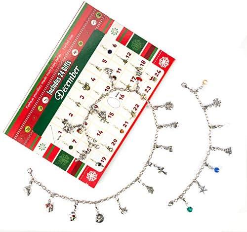 [해외]TRENDWIND Advent Calendar 2019 - Fashion Jewelry Bracelet Necklace22 Charms Set Advent Calendars for Girls / TRENDWIND Advent Calendar 2019 - Fashion Jewelry Bracelet Necklace22 Charms Set Advent Calendars for Girls