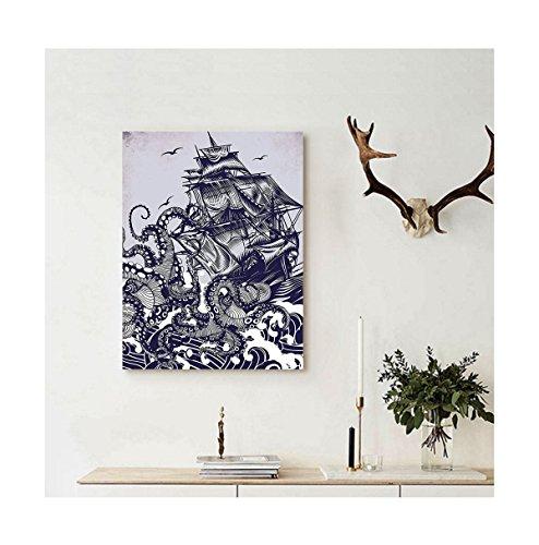 Liguo88 Custom canvas Nautical Decorations Collection Sailor