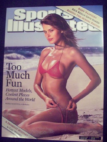 2003 Sports Illustrated Si Swimsuit Cover Poster Petra Nemcova