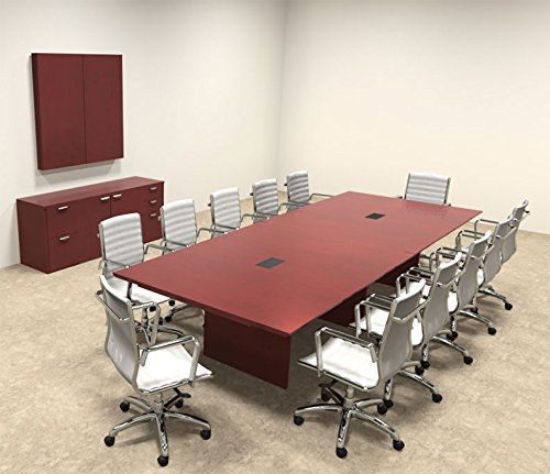 12' Rectangular Conference Table - 8