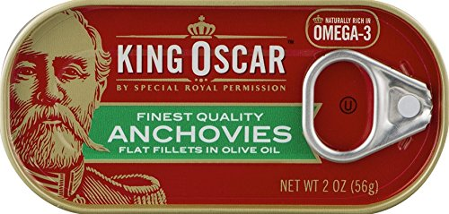 King Oscar Anchovies 2oz Can