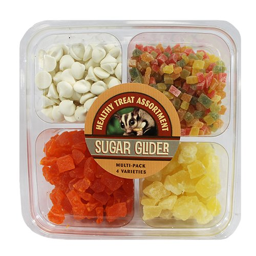 (Exotic Nutrition Sugar Glider Treat Variety Pack 1 lb.)