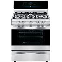 Kenmore Elite 75343 5.6 cu. ft. Self Clean Gas Range in Stainless Steel, includes delivery and hookup